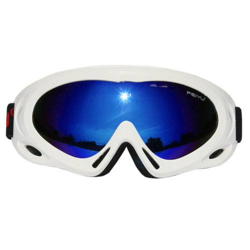 Sports Safety Sunglasses Antifog Eyewear Cycling Driving Skiing Goggles White