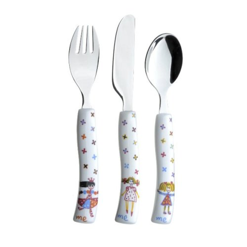 Arthur Price Cherish Me Girl Design 3 Piece Child's Cutlery Set