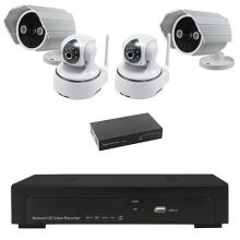 MCL IP-KCN007 2 Outdoor HD IP Cameras