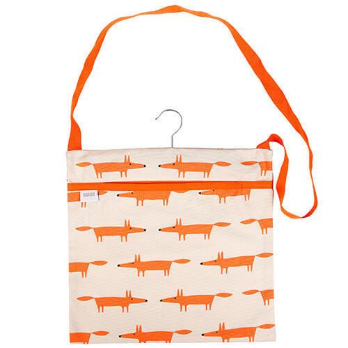 Scion Living Mr Fox Wipe Clean Stone Peg Bag