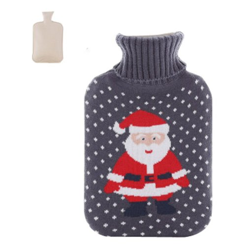 Hot Sale Living Goods Hot Water Bottle Novelty Hot Water Bag 32*20cm Christmas
