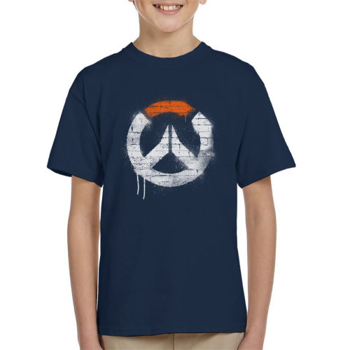 Overwatch Graffiti Logo Kid's T-Shirt