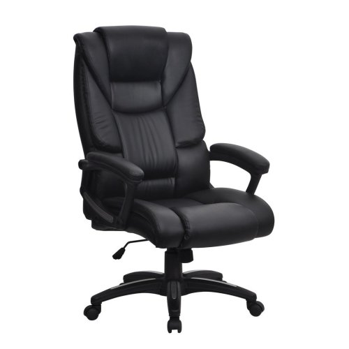 Eliza Tinsley Titan High Back Executive Swivel Computer Desk Armchair - Black