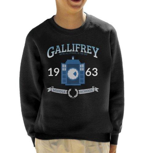 Gallifrey Middle School Doctor Who Kid's Sweatshirt
