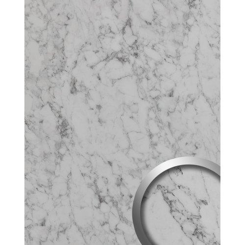 WallFace 19338 MARBLE WHITE Decor Panel marble look matt white 2.6 sqm