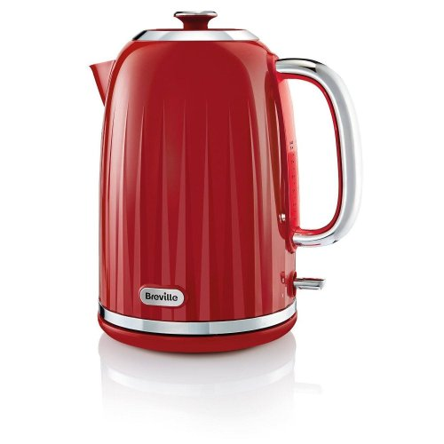 Breville Impressions Jug Kettle Ridged Texture Design 1.7 L - Red (VKT006)