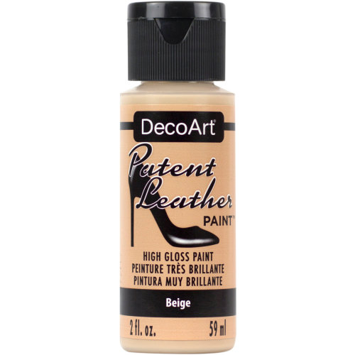 Patent Leather Paint 2oz-Beige