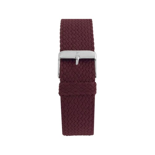 Wallace Hume Burgundy Red Men's Perlon Watch Strap