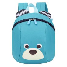 Anti-lost Kindergarten Backpack Cute Dog Shoulder Bag School Bag-Azure