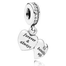 Pandora My Beautiful Wife Charm - 791524CZ