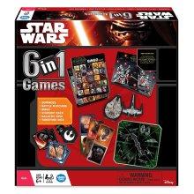 6-in-1 Star Wars Board Game | Kids' Star Wars Game Set