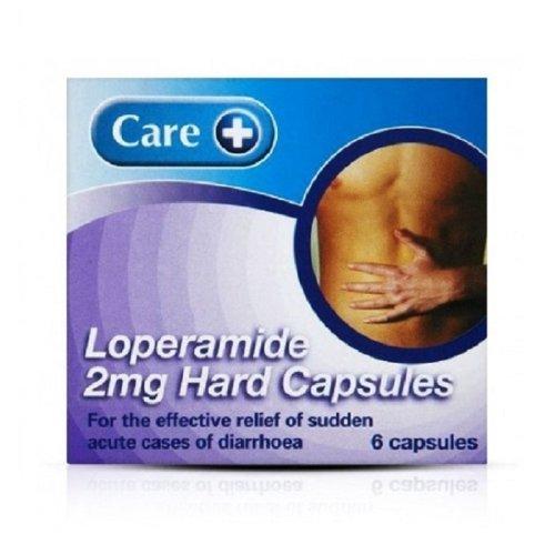 Care Loperamide 2mg 6 Hard Capsules