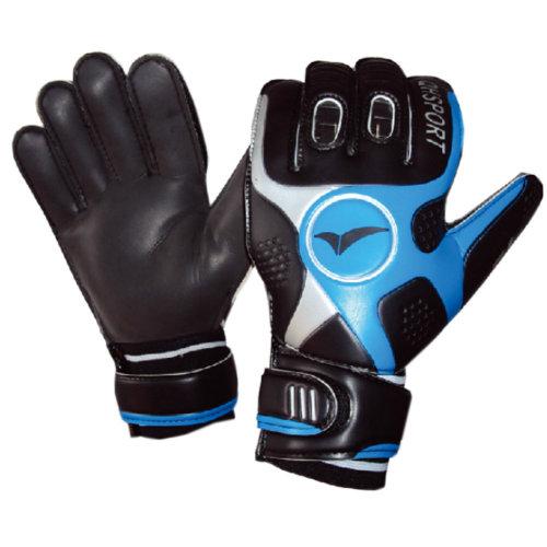 Cool Soccer Receiver Gloves Sport Gloves For Adult, Black/Blue