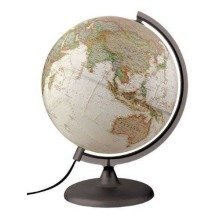National Geographic Executive Antique Reference Illuminated Globe - 30 cm