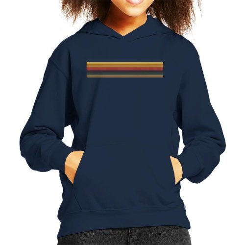 Thirteenth Doctor Who Jodie Whittaker Rainbow Kid's Hooded Sweatshirt