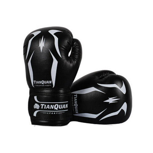 Sandbag Boxing Professional Gloves black strengthen Gloves  Training Gloves