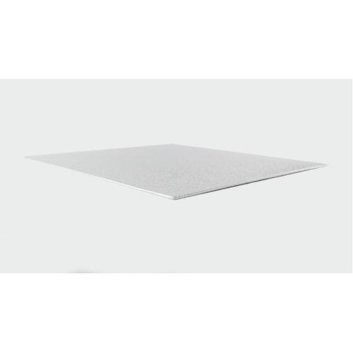 "15"" Thin Silver Square Cake Board 3mm Thick"