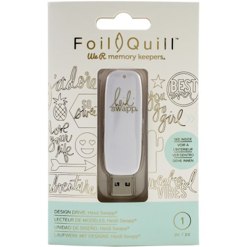 We R Memory Keepers Foil Quill Usb Artwork Drive-Heidi Swapp