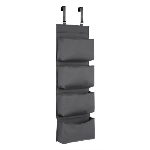 Grey Over Door Organiser | Hanging Door Storage Bag