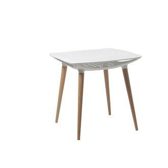 Eliza Tinsley Espresso Stylish Lightweight Poly Table BTP/Y442/WH