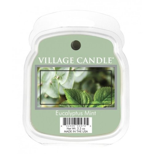 Village Candle Wax Melt Packs For Use with Melt Tart & Oil Burners Eucalyptus Mint