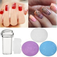 3Pcs/Kit DIY Nail Art Stamp Stencil Stamper Scraper Design Stamping Template Image Printer