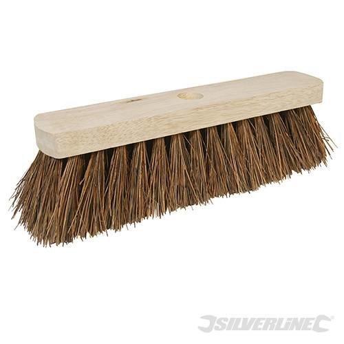 "Silverline Broom Stiff Bassine 304mm (12"") - 12 427673 -  broom stiff silverline bassine 304mm 12 427673"
