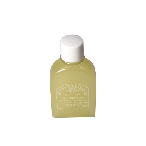Travel Sized Famous Gardener's Insect Repelling Gel 50ml, contains Neem Oil, Made