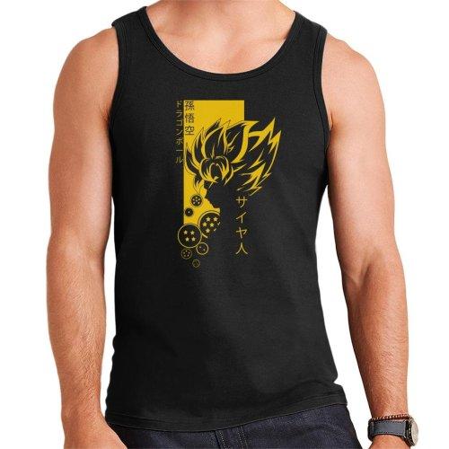 Dragon Ball Z Profile Saiyan Men's Vest