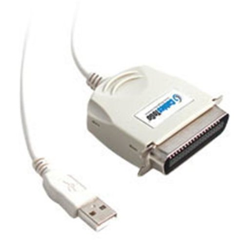 Cables To Go 16898 6ft USB IEEE-1284 Parallel Printer Adapter Cable