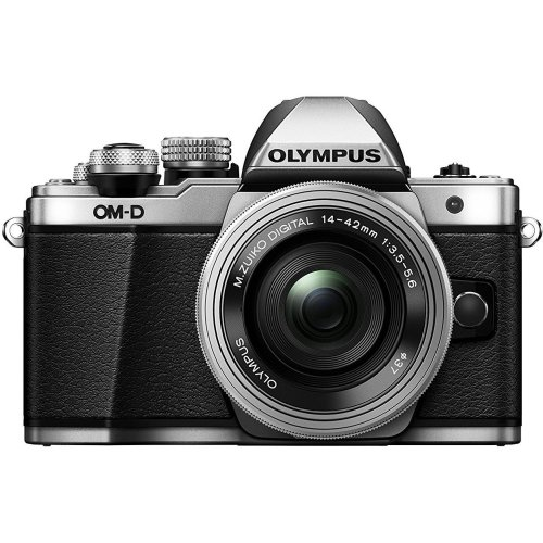 Olympus OM-D E-M10 Mark II Compact System Camera With 14-42 EZ Lens - Silver