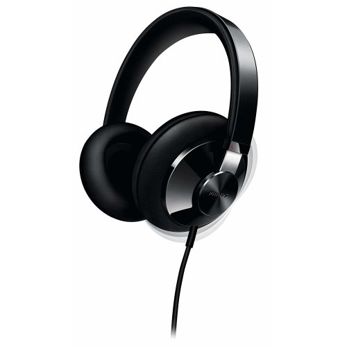 Philips SHP6000/10 Hi-Fi Over-Ear Headphones Black