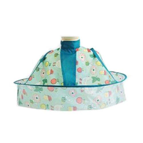 1PCS Child Kid Hair Cutting Cape Baby Styling Salon Waterproof Cloak, Green
