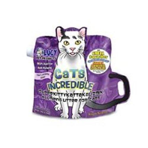 Lucy Pet Products 850657006272 Cats Incredible Superkittykattakalizmik Klumping Litter - Lavender