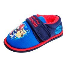 Paw Patrol Slippers - Fleece Lining - Light Up Badge on the Front