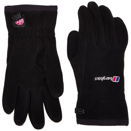 Berghaus Windproof Windystopper Adult's Outdoor Fleece Gloves available in Black - X-Large