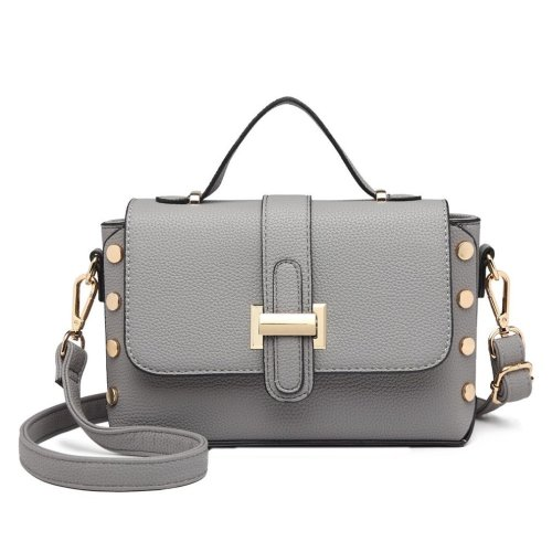 Miss Lulu Women Small Crossbody Shoulder Bag Handbag Grey on OnBuy 62412be5abffc