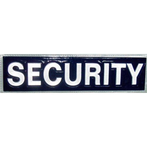Reflective SECURITY Patch -Blue-30 x 8cm