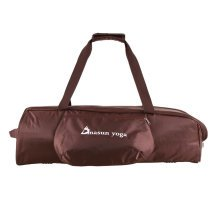 """Durable and Versatile Yoga Mat Bag Accommodates Mats of up to 24"""" x 72"""", Brown"""