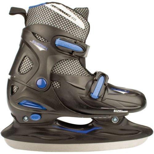 Nijdam Ice Hockey Skates Size 34-37 3024-ZWB-34-37