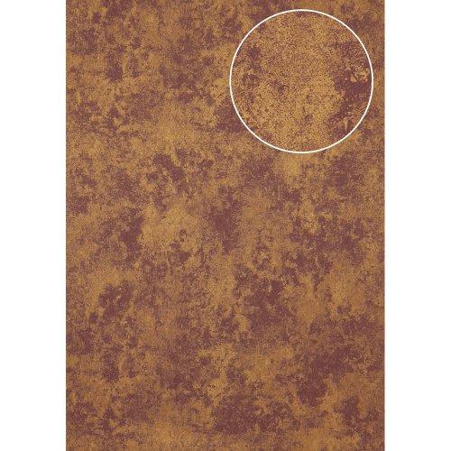 Atlas ATT-5118-3 Tone on tone wallcovering shimmering violet bronze 7.035 sqm
