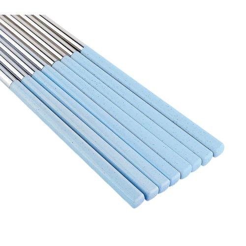Blue Dinnerware Chopsticks Sets 4 Pairs