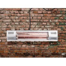 Electric Patio Heater - Wall Mounted - Infrared - FUEGO
