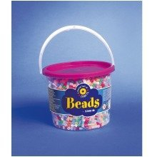 Pbx2455963 - Playbox - Beads in Bucket (pearl Mix) - 5000 Pcs