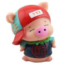 Creative Pig Piggy Bank For Saving Money Coin Bank Home Decor Ornaments A