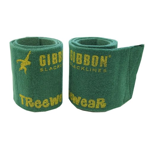 Gibbon Slacklines Treewear, tree protection, green, length: 100 cm, width: 16 cm, protection for band and tree