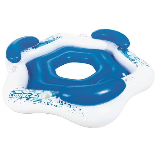 Bestway Island Inflatable Floating Lounge Swimming Pool Water Tube Rider 43111