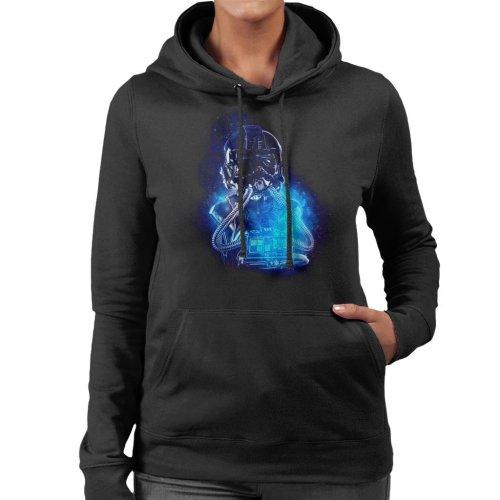 Original Stormtrooper Imperial TIE Pilot Space Women's Hooded Sweatshirt