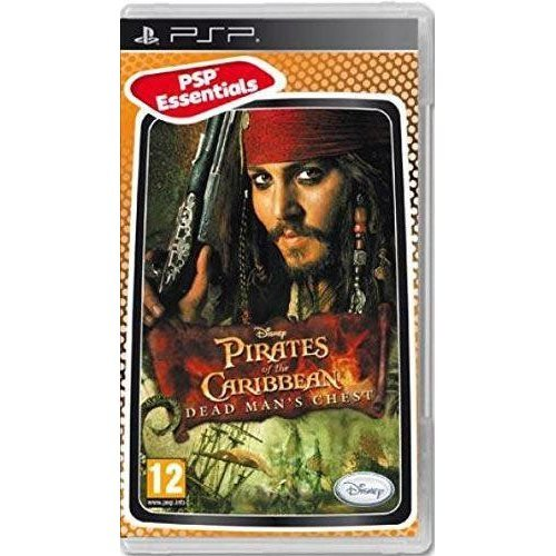 Pirates Of The Caribbean Dead Mans Chest Essentials Edition Sony PSP Game