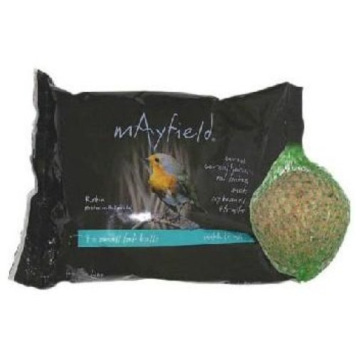 Mayfield Fat Balls With Fruit 4pk Poly 88g (Pack of 6)